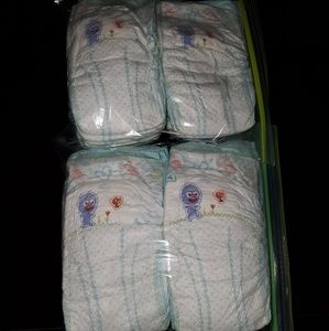 New Pampers Size 4